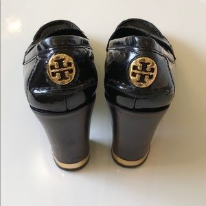 Tory Burch Penny Loafer Stacked Heels